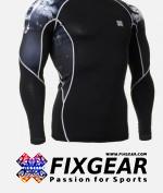 FIXGEAR C2L-B18 Compression Base Layer Shirt