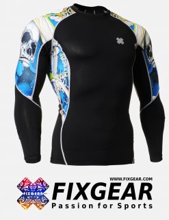 FIXGEAR C2L-B19B Compression Base Layer Shirt