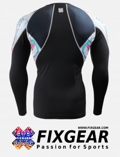 FIXGEAR C2L-B19P Compression Base Layer Shirt