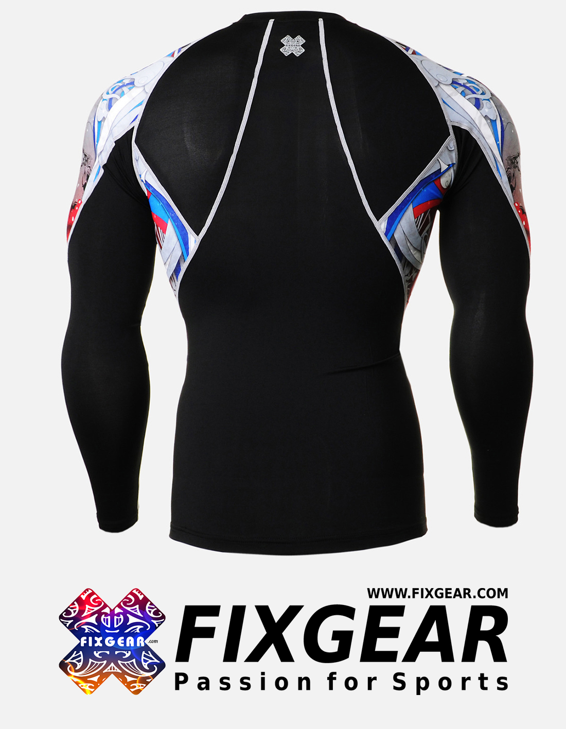 FIXGEAR C2L-B19R Compression Base Layer Shirt