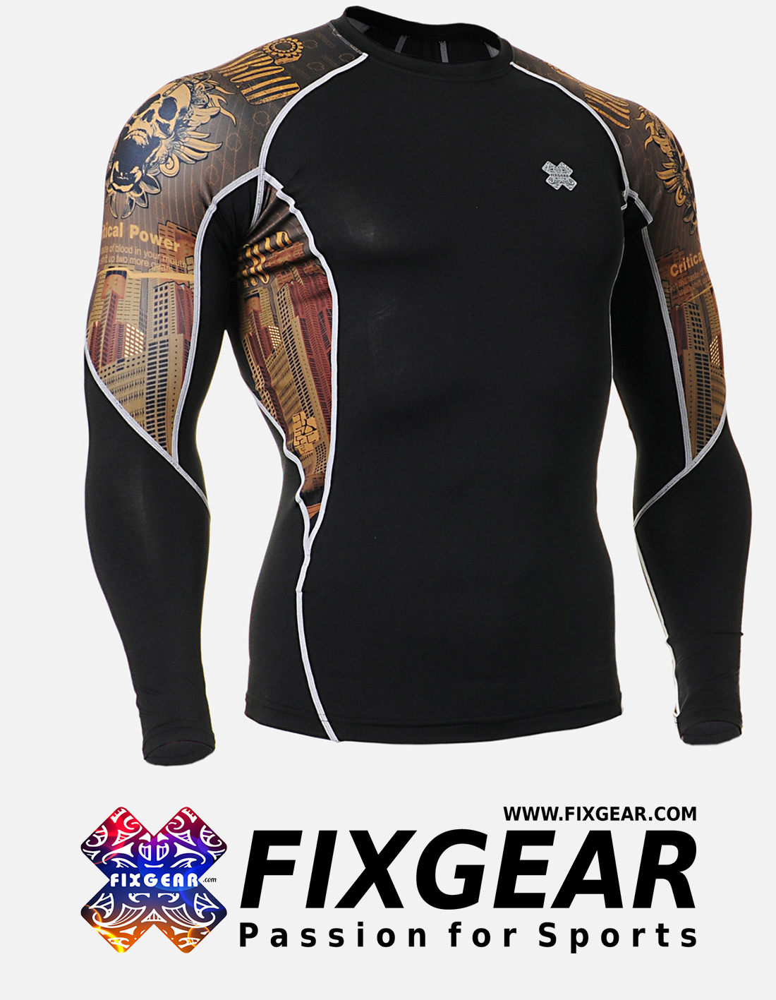 FIXGEAR C2L-B27 Compression Base Layer Shirt