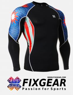 FIXGEAR C2L-B37 Compression Base Layer Shirt