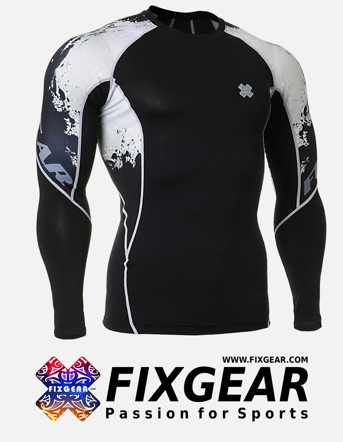 FIXGEAR C2L-B39 Compression Base Layer Shirt