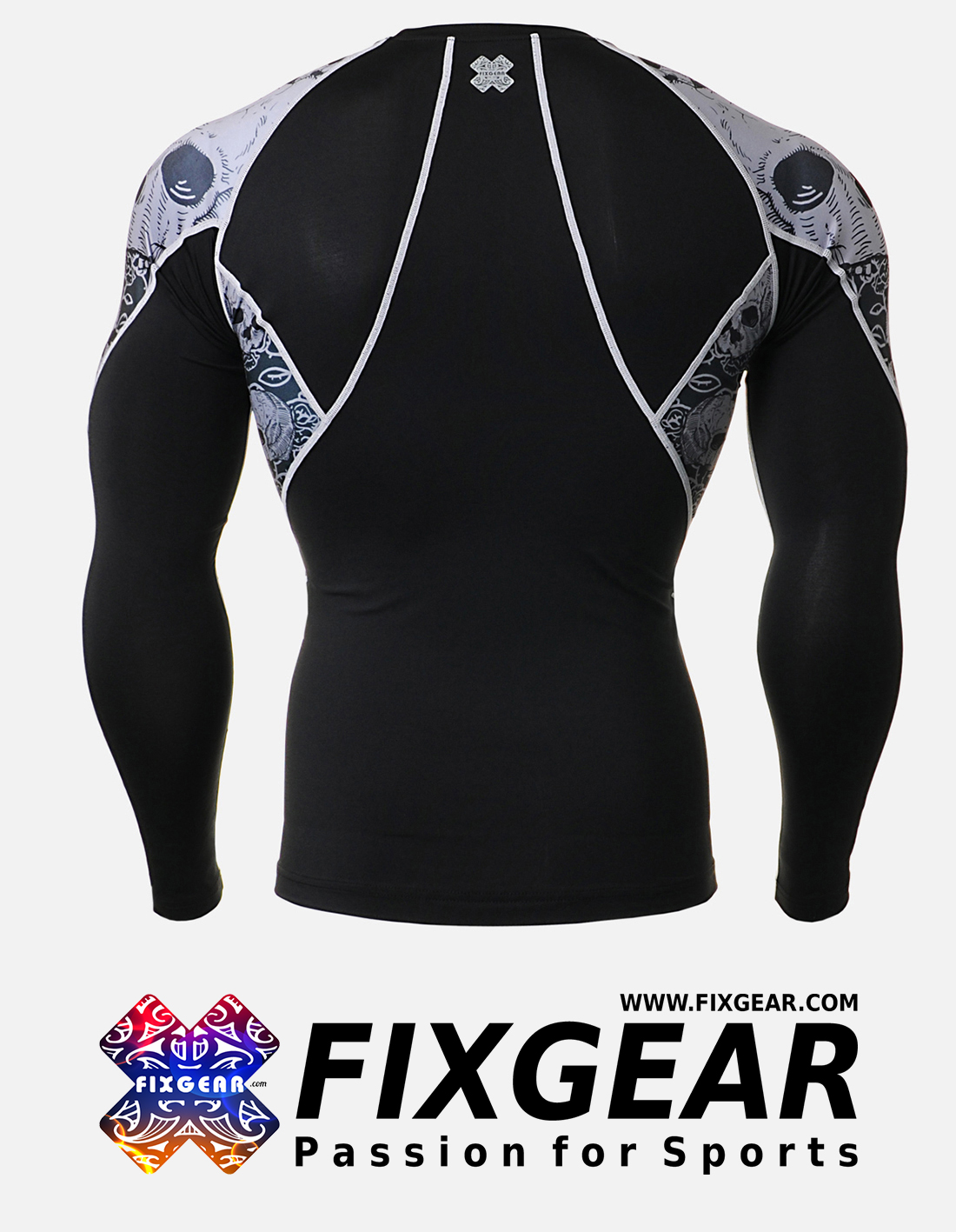 FIXGEAR C2L-B40 Compression Base Layer Shirt