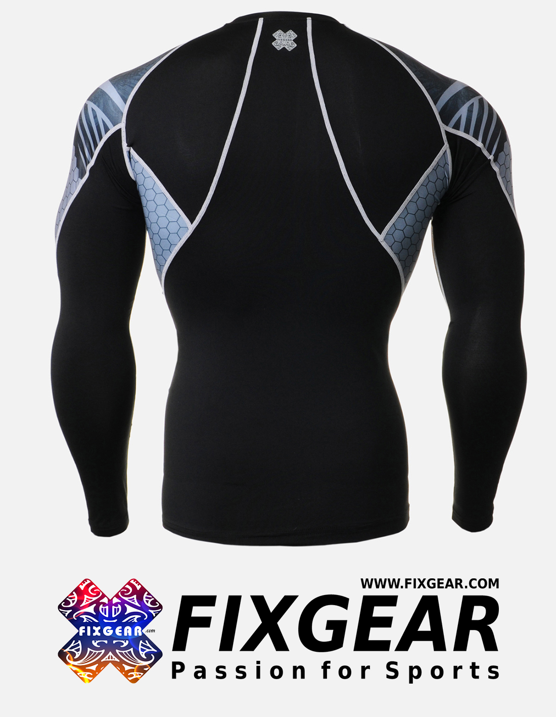 FIXGEAR C2L-B41 Compression Base Layer Shirt