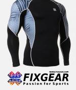 FIXGEAR C2L-B41 Compression Base Layer Shirt