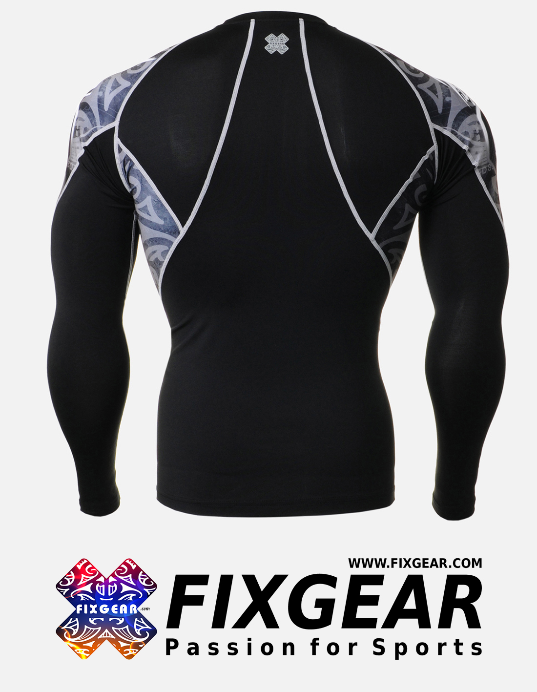 FIXGEAR C2L-B43 Compression Base Layer Shirt