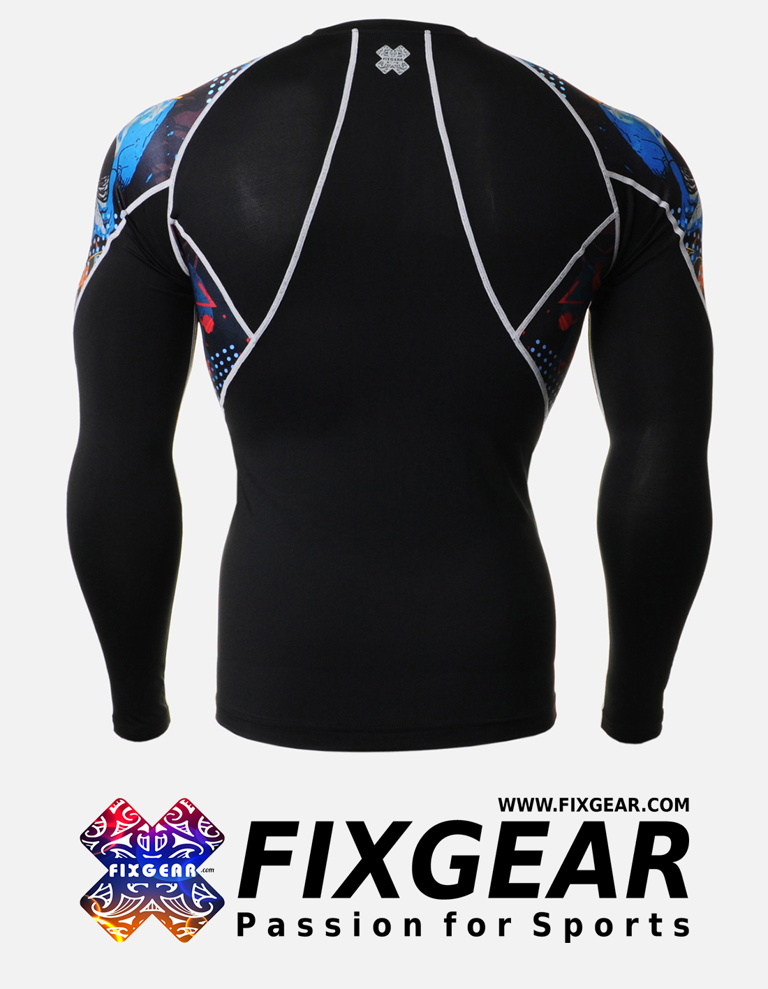 FIXGEAR C2L-B46 Compression Base Layer Shirt
