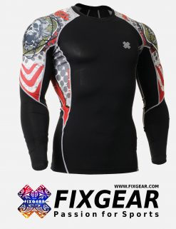FIXGEAR C2L-B5 Compression Base Layer Shirt