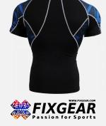 FIXGEAR C2S-B1 Compression Base Layer Shirt Short Sleeve  2