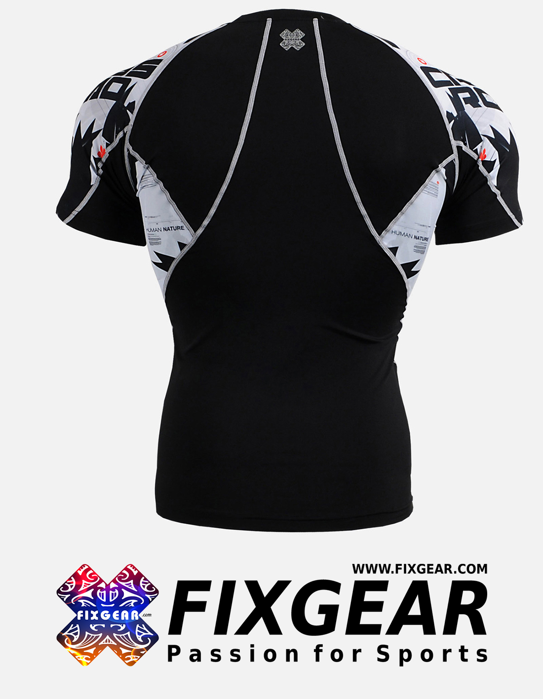 FIXGEAR C2S-B17 Compression Base Layer Shirt Short Sleeve