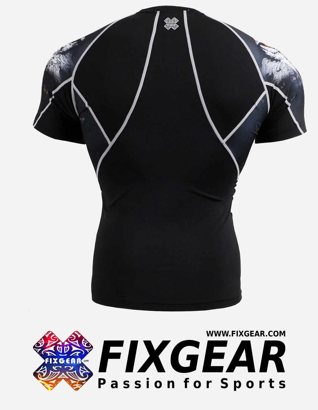 FIXGEAR C2S-B18 Compression Base Layer Shirt Short Sleeve