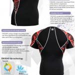 FIXGEAR C2S-B2 Compression Base Layer Shirt Short Sleeve  3