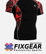 FIXGEAR C2S-B2 Compression Base Layer Shirt Short Sleeve