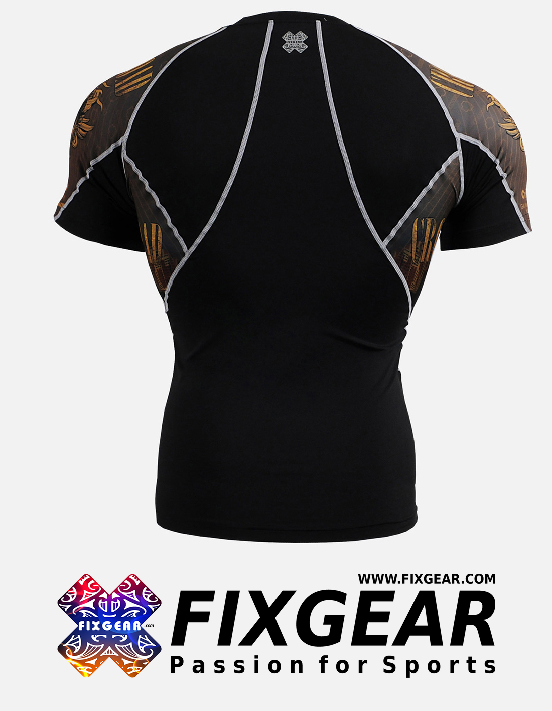 FIXGEAR C2S-B27 Compression Base Layer Shirt Short Sleeve