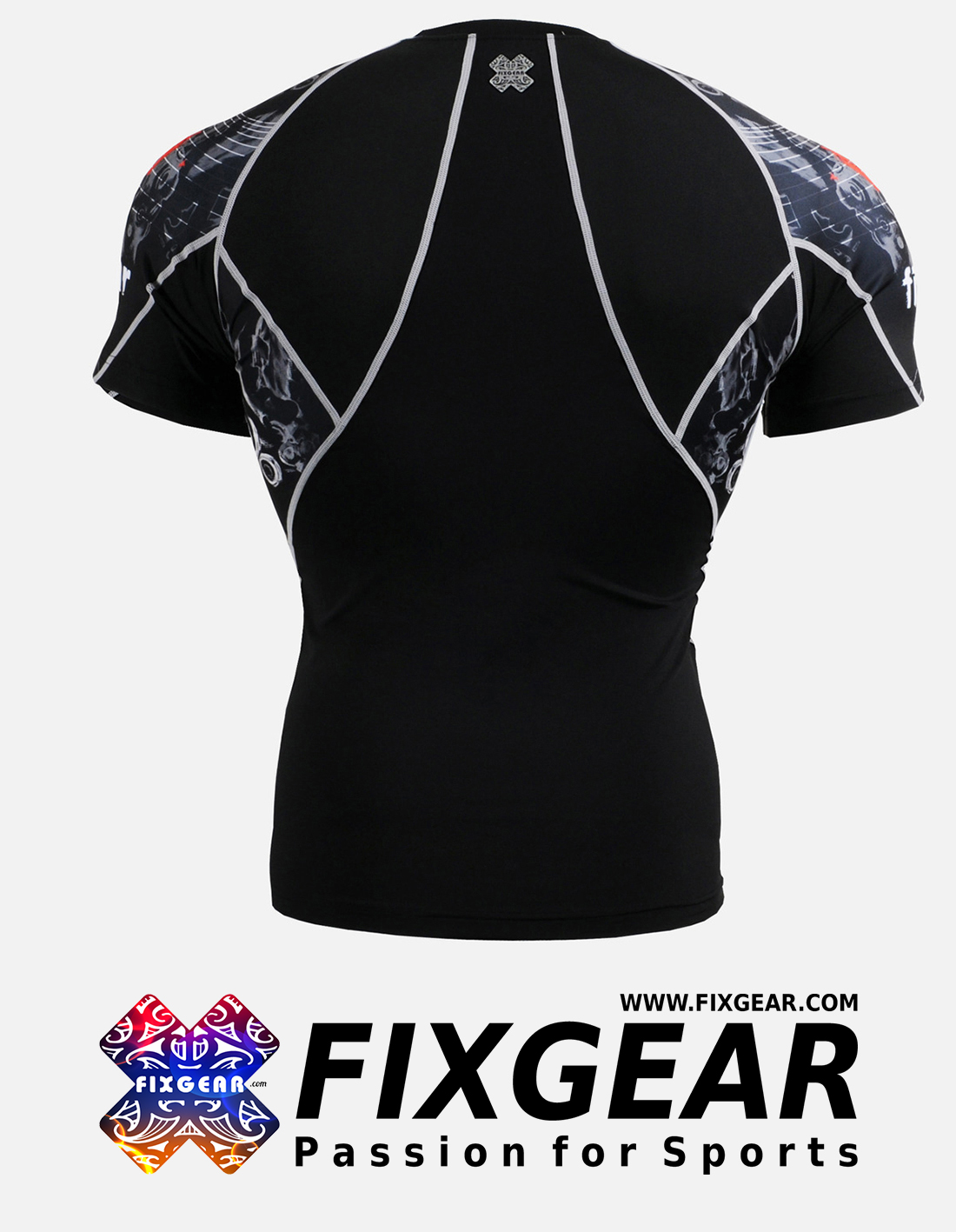 FIXGEAR C2S-B30 Compression Base Layer Shirt Short Sleeve