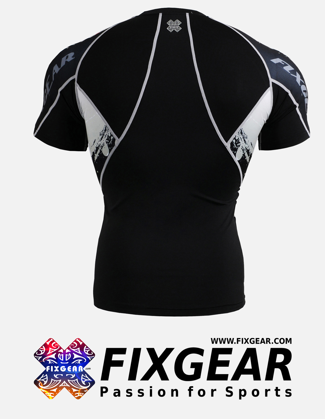 FIXGEAR C2S-B39 Compression Base Layer Shirt Short Sleeve