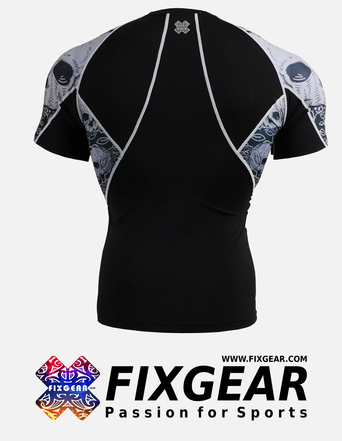 FIXGEAR C2S-B40 Compression Base Layer Shirt Short Sleeve