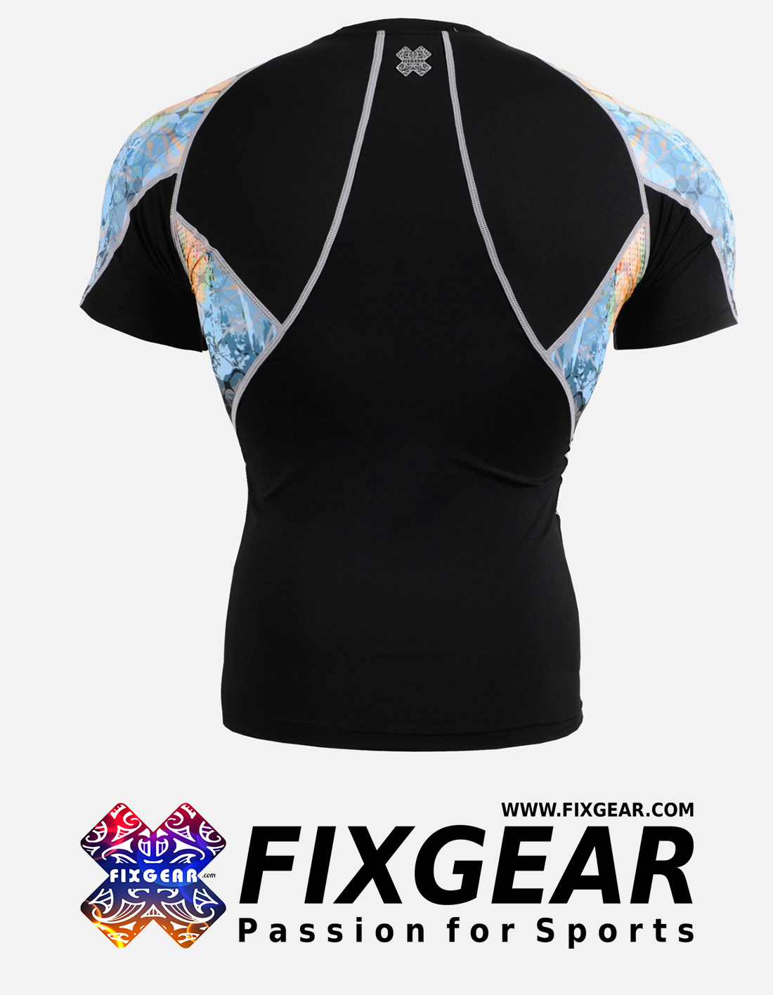FIXGEAR C2S-B42 Compression Base Layer Shirt Short Sleeve