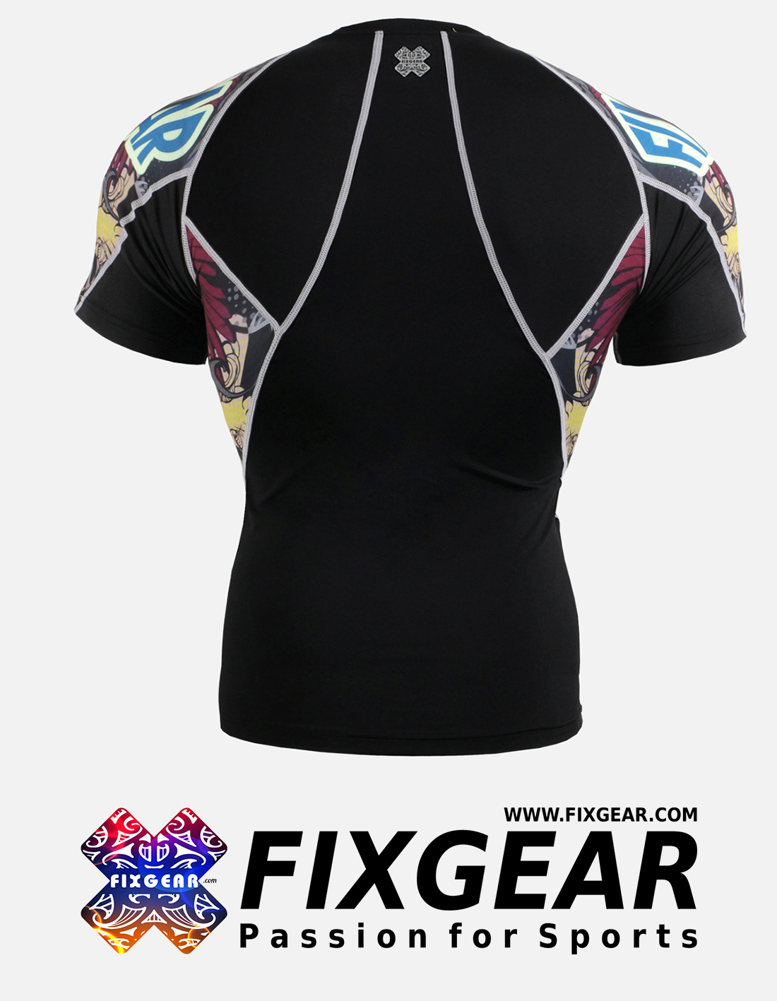 FIXGEAR C2S-B44 Compression Base Layer Shirt Short Sleeve