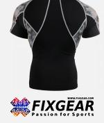 FIXGEAR C2S-B45 Compression Base Layer Shirt Short Sleeve  2