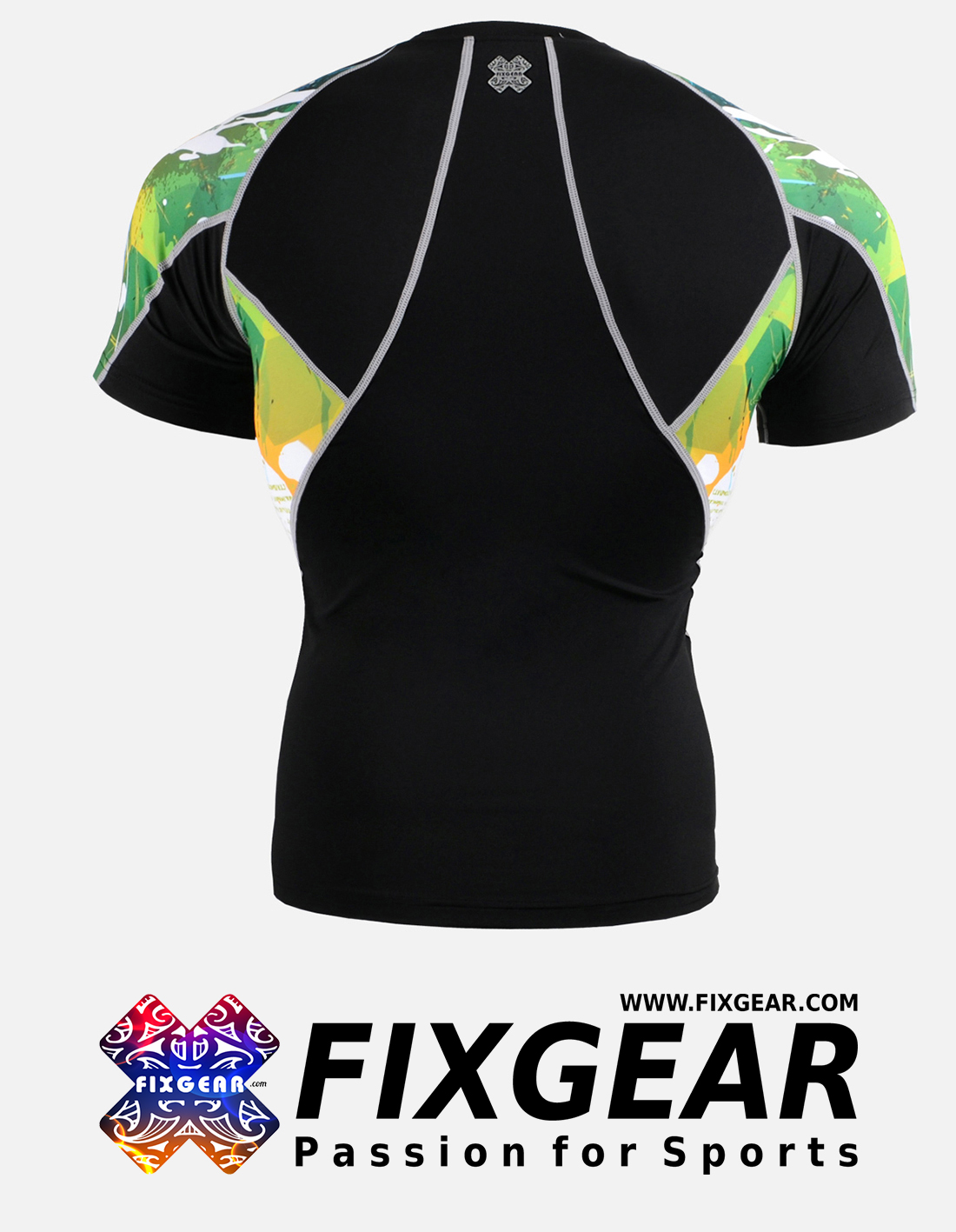 FIXGEAR C2S-B47 Compression Base Layer Shirt Short Sleeve