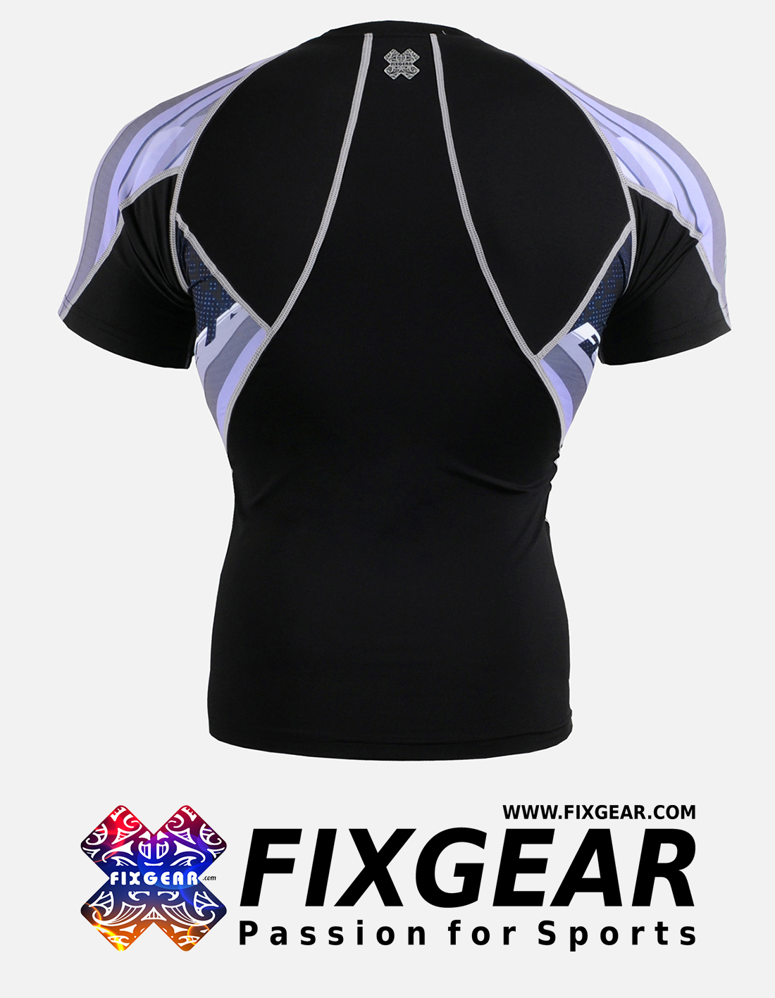 FIXGEAR C2S-B48 Compression Base Layer Shirt Short Sleeve