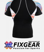 FIXGEAR C2S-B49 Compression Base Layer Shirt Short Sleeve  2