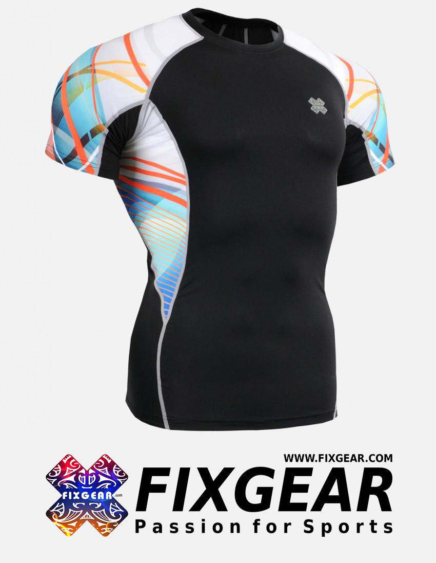 FIXGEAR C2S-B49 Compression Base Layer Shirt Short Sleeve  1