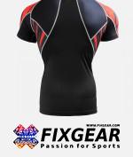 FIXGEAR C2S-B68 Compression Base Layer Shirt Short Sleeve  2