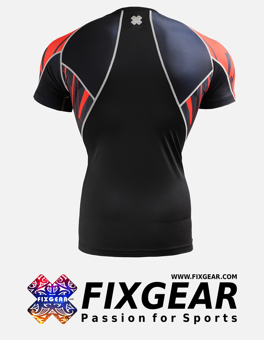 FIXGEAR C2S-B68 Compression Base Layer Shirt Short Sleeve