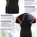 FIXGEAR C2S-B68 Compression Base Layer Shirt Short Sleeve  3