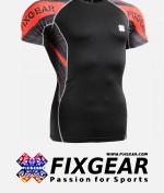 FIXGEAR C2S-B68 Compression Base Layer Shirt Short Sleeve