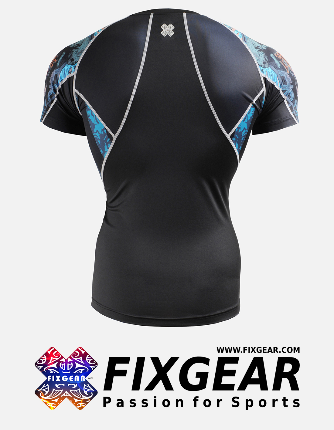 FIXGEAR C2S-B74 Compression Base Layer Shirt Short Sleeve