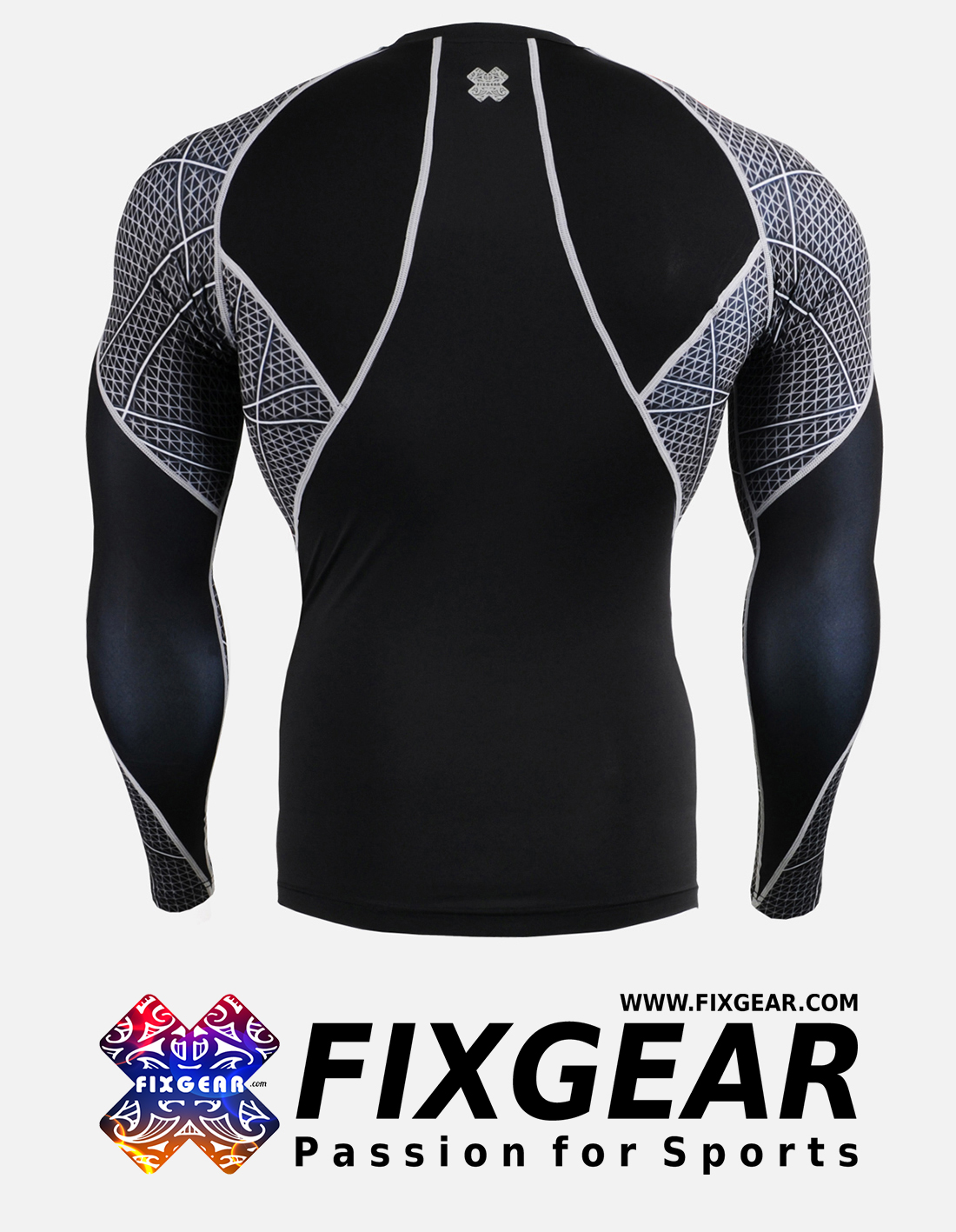 FIXGEAR C3L-B70 Compression Base Layer Shirt