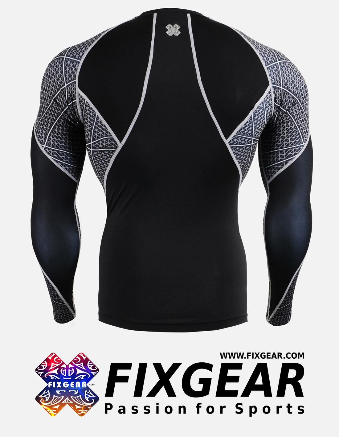 FIXGEAR C3L-B70 Compression Base Layer Shirt