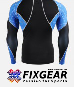 FIXGEAR C3L-B70B Compression Base Layer Shirt  2