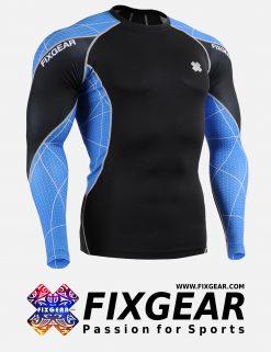 FIXGEAR C3L-B70B Compression Base Layer Shirt