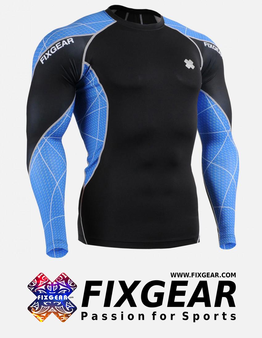 FIXGEAR C3L-B70B Compression Base Layer Shirt  1