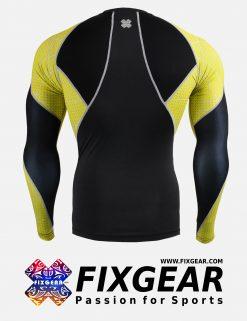 FIXGEAR C3L-B70Y Compression Base Layer Shirt