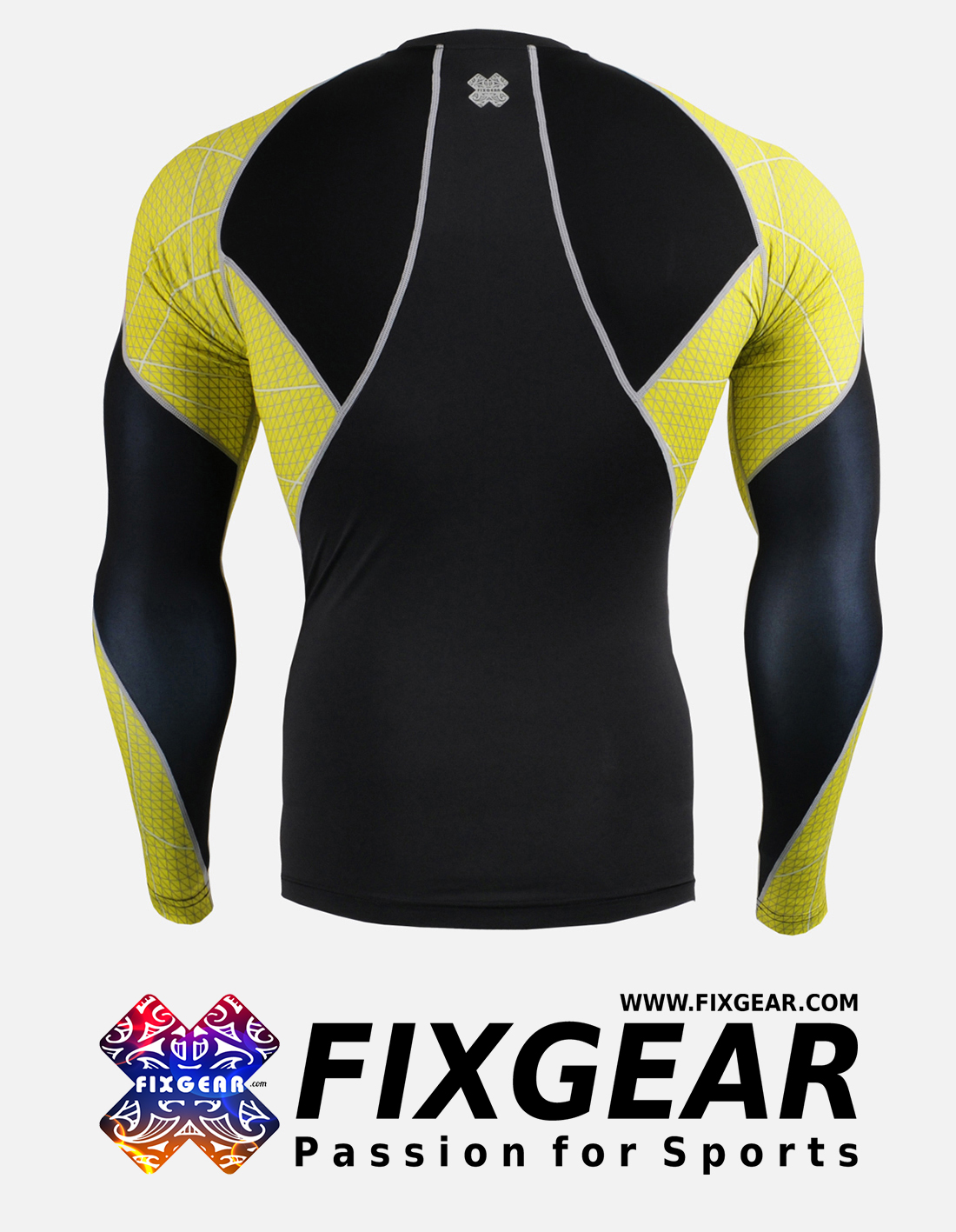FIXGEAR C3L-B70Y Compression Base Layer Shirt
