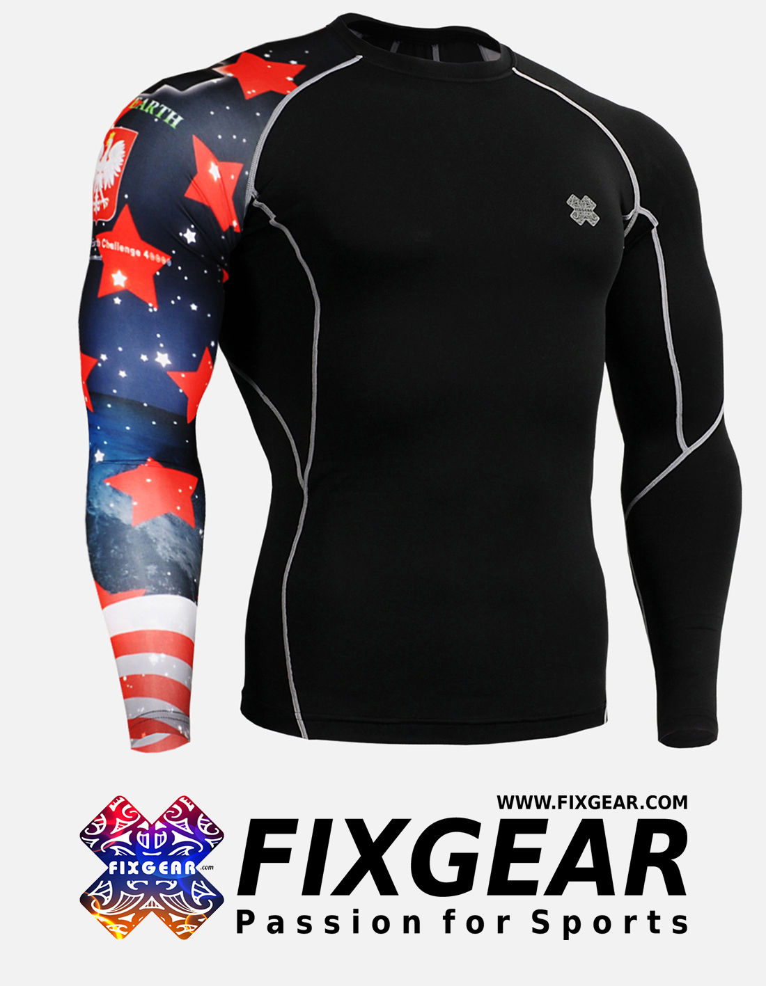 FIXGEAR CP-B10 Compression Base Layer Shirt