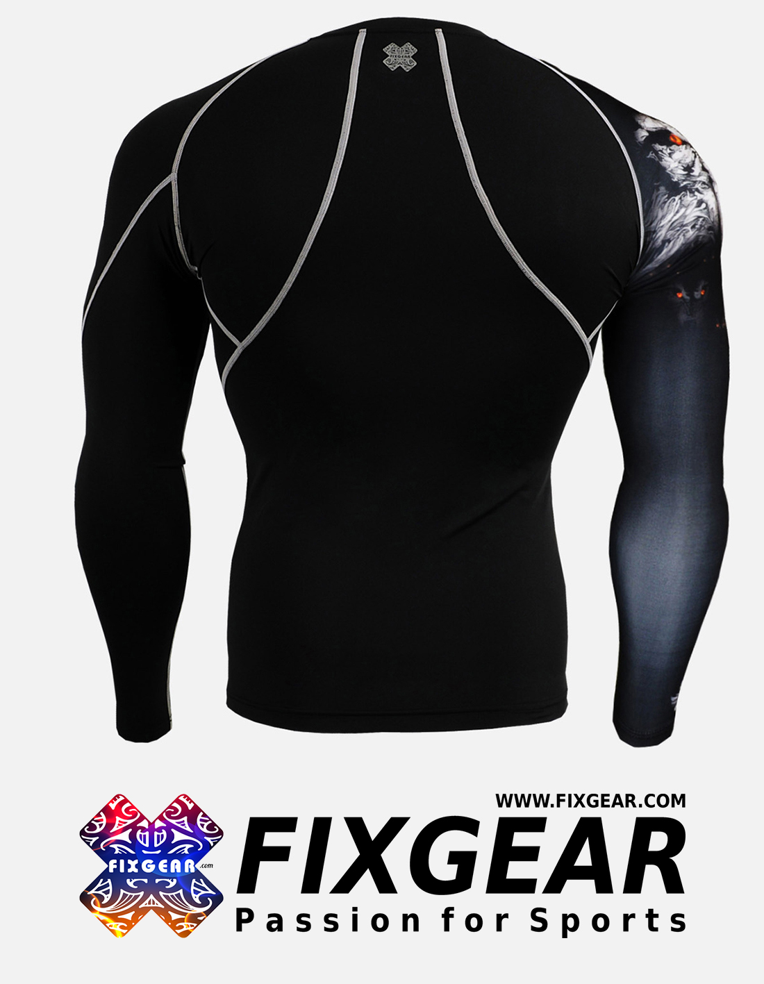 FIXGEAR CP-B18 Compression Base Layer Shirt