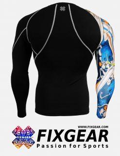 FIXGEAR CP-B19B Compression Base Layer Shirt