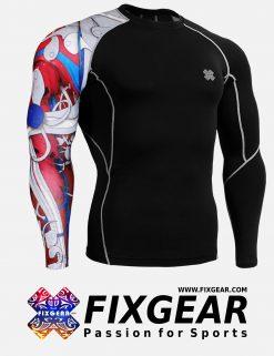 FIXGEAR CP-B19R Compression Base Layer Shirt