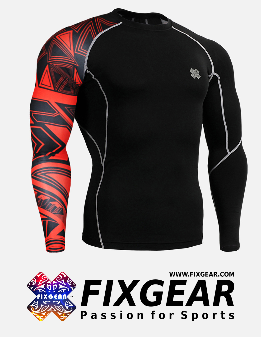 FIXGEAR CP-B2 Compression Base Layer Shirt
