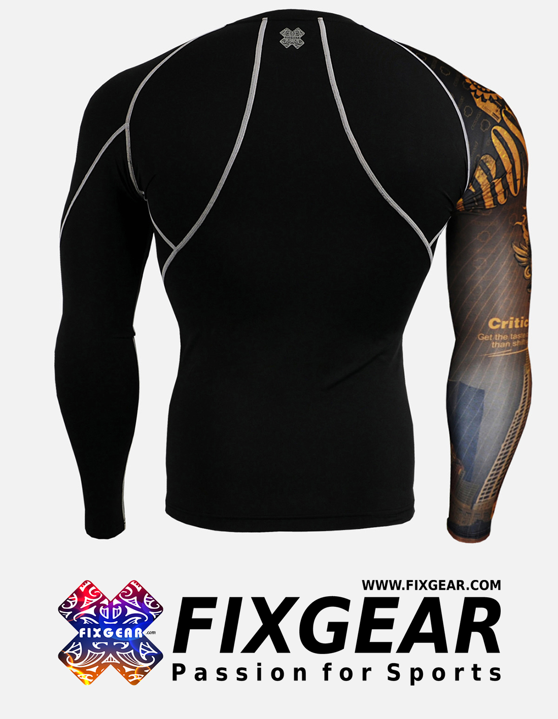FIXGEAR CP-B27 Compression Base Layer Shirt
