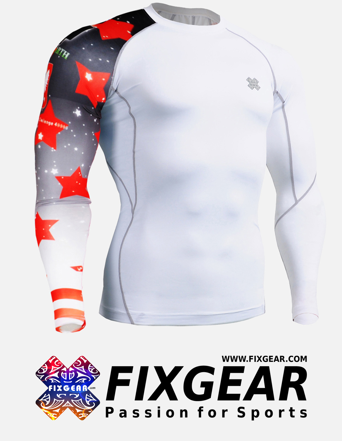 FIXGEAR CP-W10 Compression Base Layer Shirt