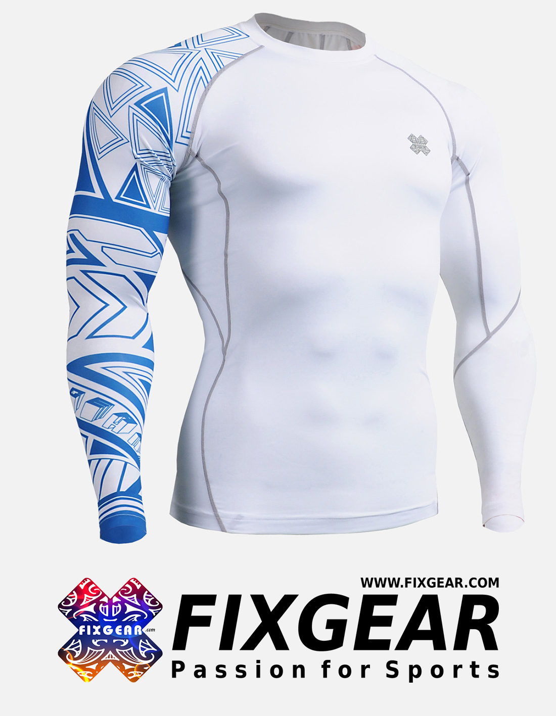 FIXGEAR CP-W2 Compression Base Layer Shirt