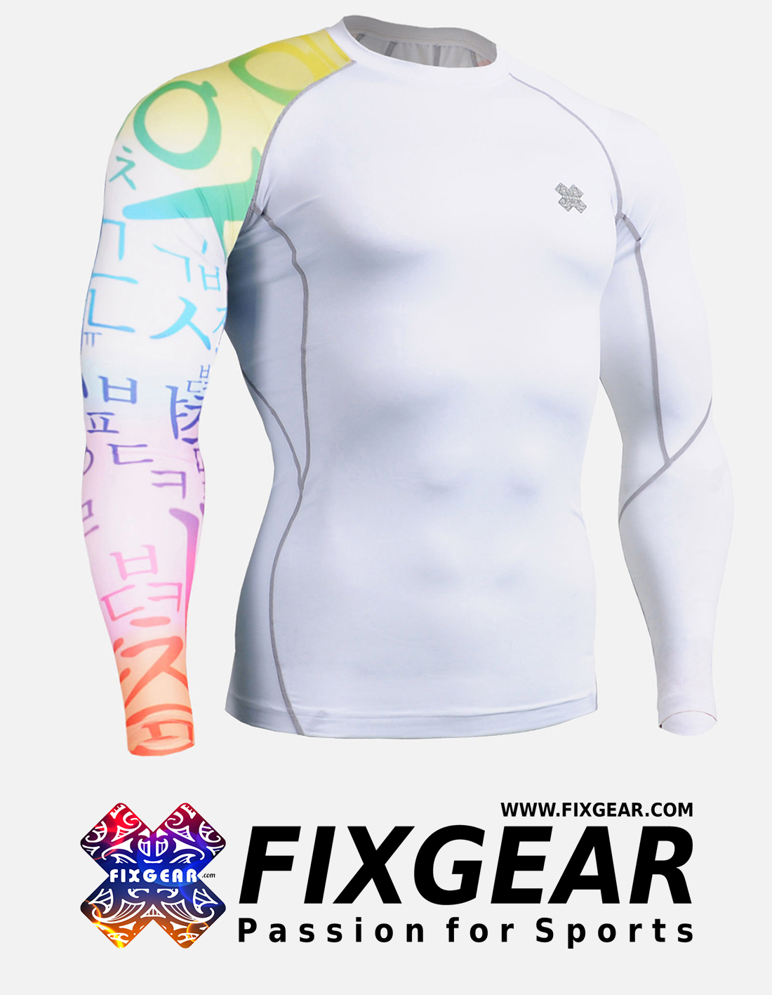 FIXGEAR CP-W3 Compression Base Layer Shirt